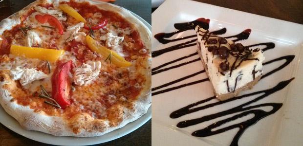 Prezzo pizza and cheesecake