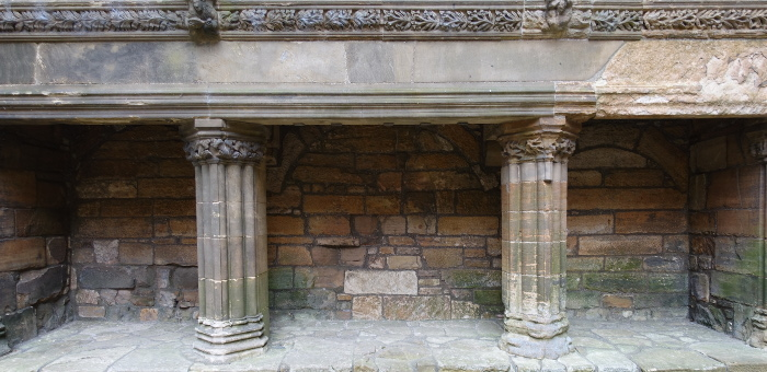 Linlithgow Palace Fireplace