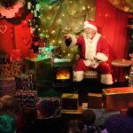 Santa in his Grotto in Edinburgh