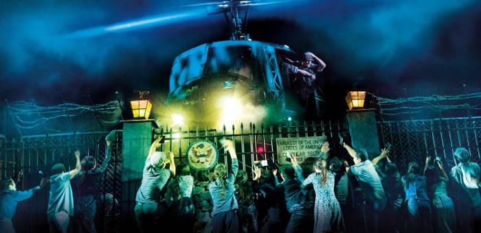 Miss Saigon helicopter evacuation scene